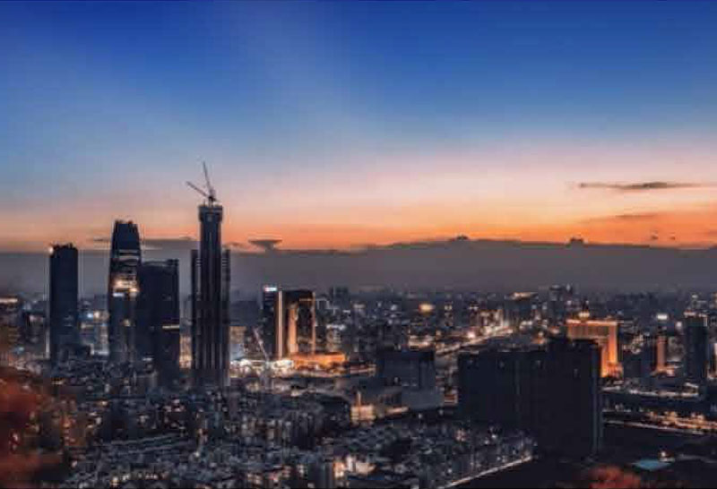 东莞国贸中心项目工程案例